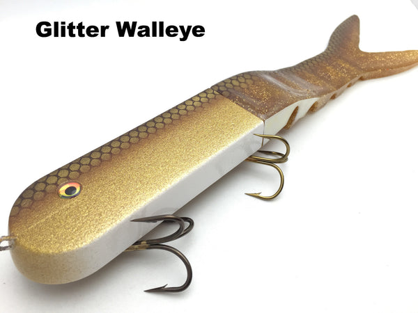 Musky Innovations Dyin' Dawg - Glitter Walleye
