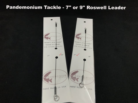 "Pandemonium Tackle 7"" or  9"" Roswell Leader"