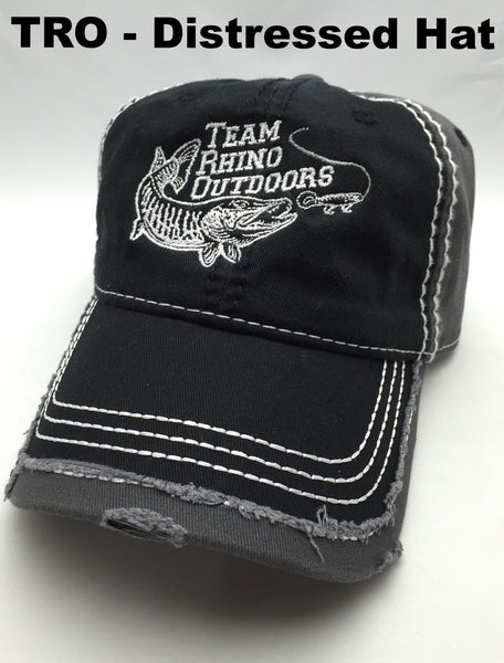 Team Rhino Outdoors - Ripped and Distressed Cap