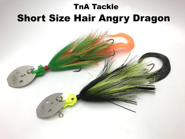TnA Tackle Hair SHORT Angry Dragon