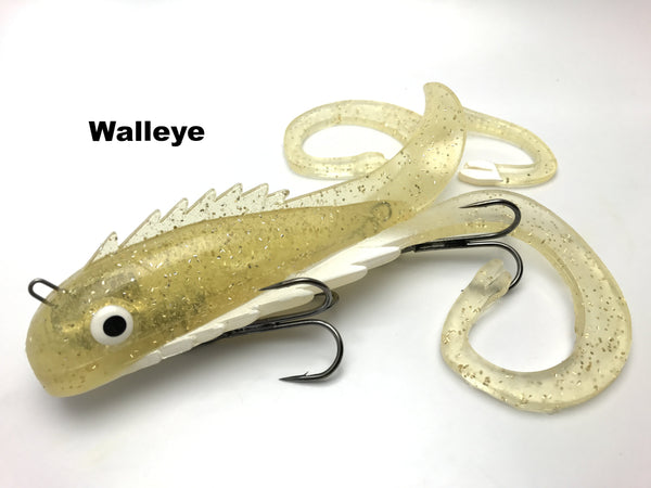 Chaos Tackle Regular Medussa - Walleye
