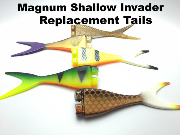 Musky Innovations Mag Shallow Invader Replacement Tail
