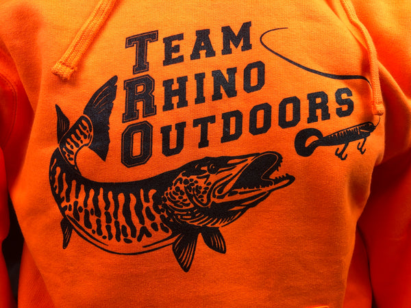 Team Rhino Outdoors - Blaze Orange Hoodie