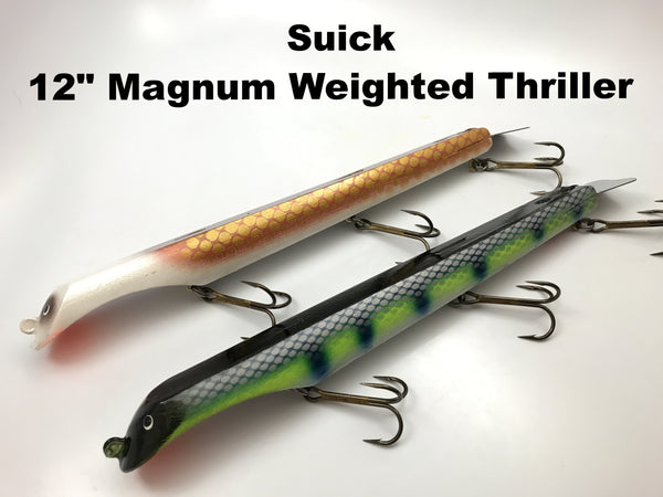 "Suick 12"" Magnum Weighted Thriller"