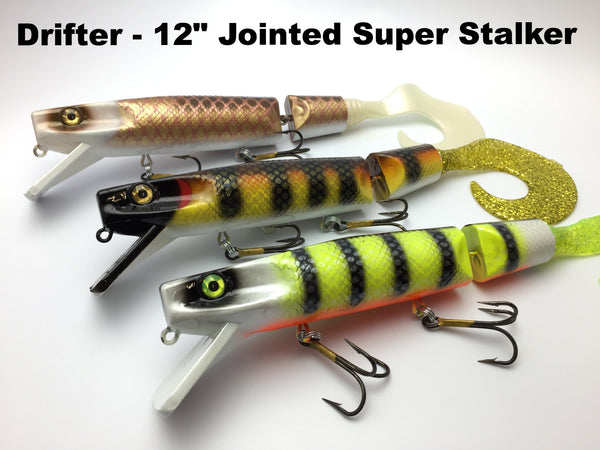 "Drifter Tackle 12"" Jointed Super Stalker"
