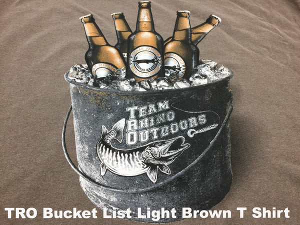 TRO - Bucket List Light Brown Short Sleeve T