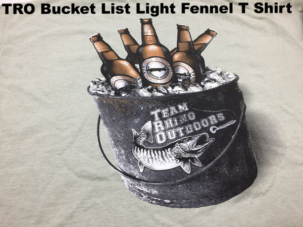 TRO - Bucket List Light Fennel Short Sleeve T