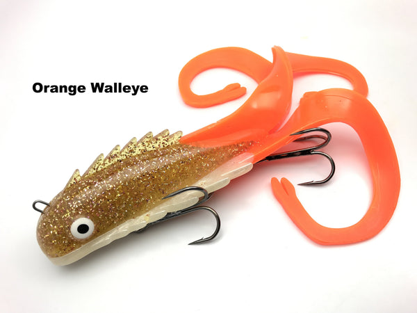 Chaos Tackle Regular Medussa - Orange Walleye