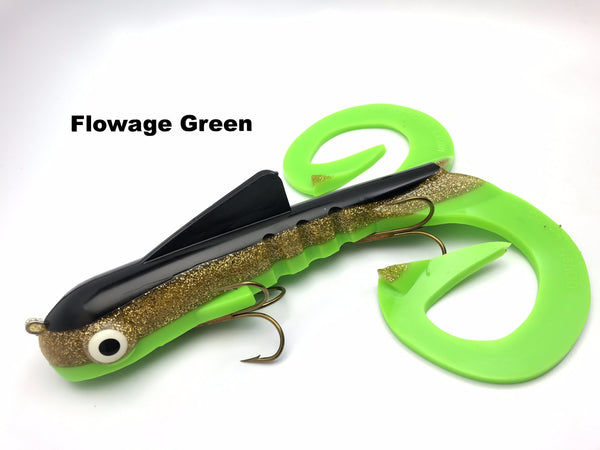 Musky Innovations Magnum Double Dawg - Flowage Green