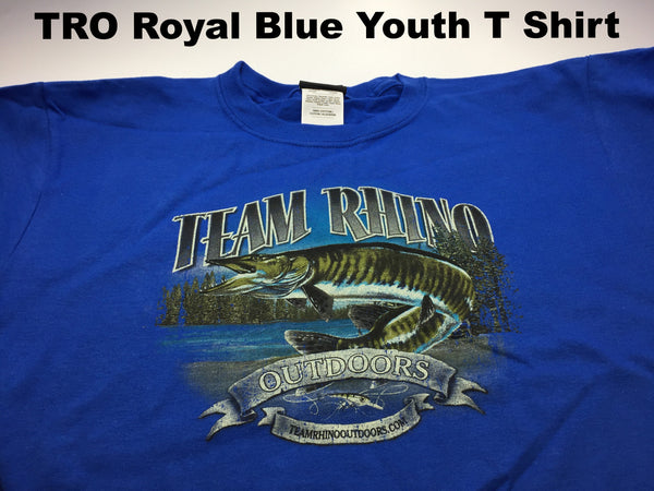 TRO - Royal Blue Youth T Shirt (XL Only)