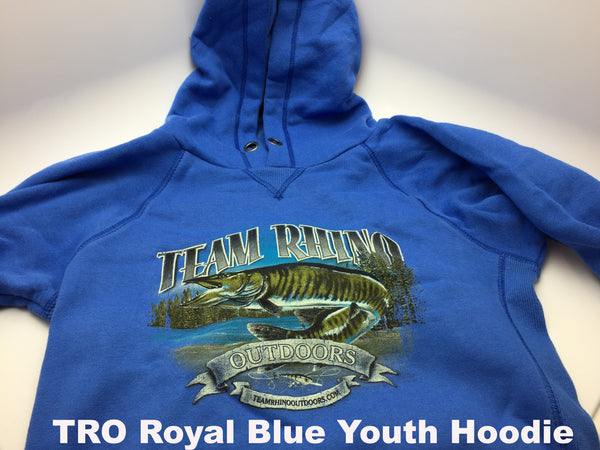 TRO - Royal Blue Youth Hoodie