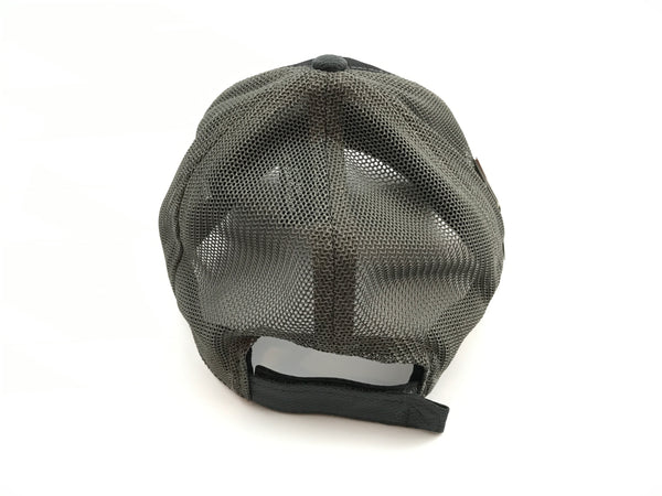 TRO Ultra Fit Black/Charcoal Adjustable Hat