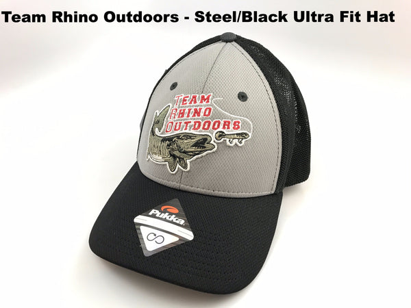 TRO Ultra Fit Steel/Black Adjustable Hat