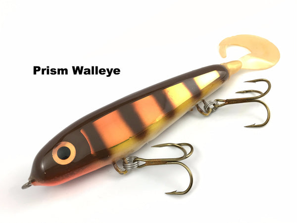 "Phantom Lures 6"" Phantom Soft Tail - Prism Walleye"