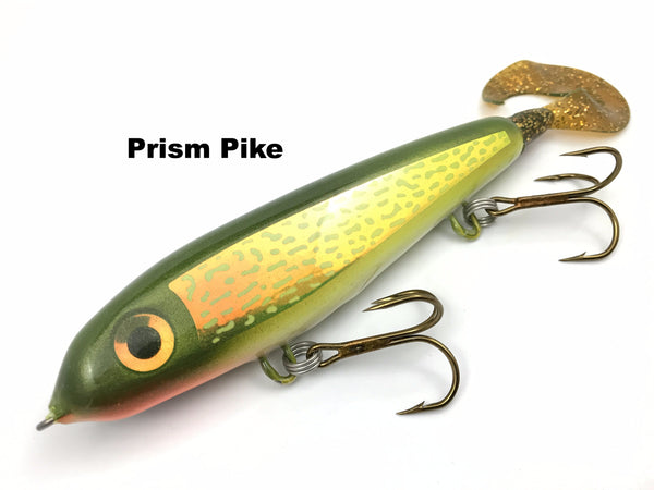"Phantom Lures 6"" Phantom Soft Tail - Prism Pike"