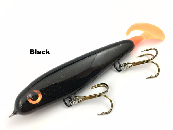 "Phantom Lures 6"" Phantom Soft Tail - Black"