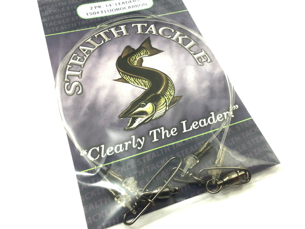 Stealth Tackle - 150# Fluorocarbon Leader (2 pack ST150)
