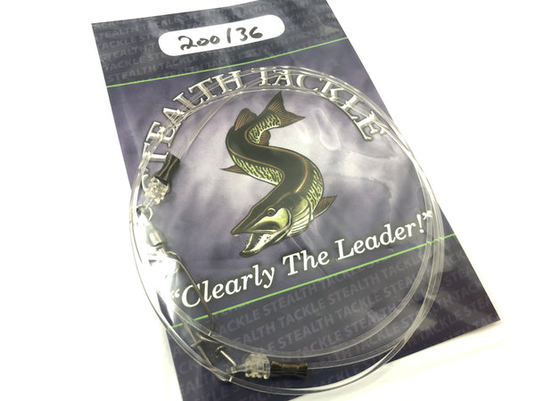 Stealth Tackle - 200# Fluorocarbon Trolling Leader (ST200T)