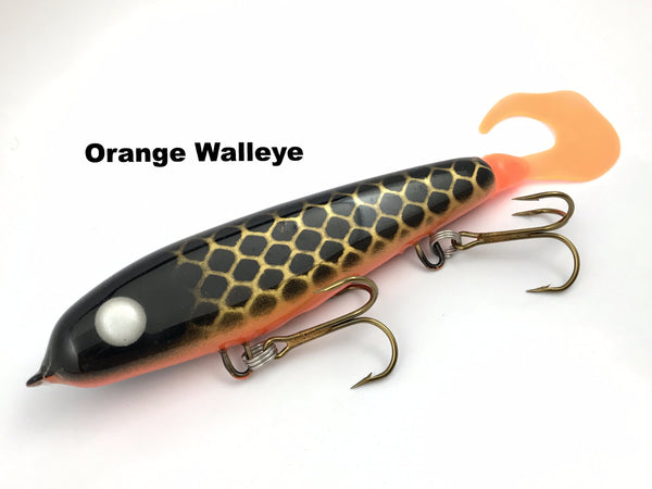 "Phantom Lures 6"" Phantom Soft Tail - Orange Walleye"