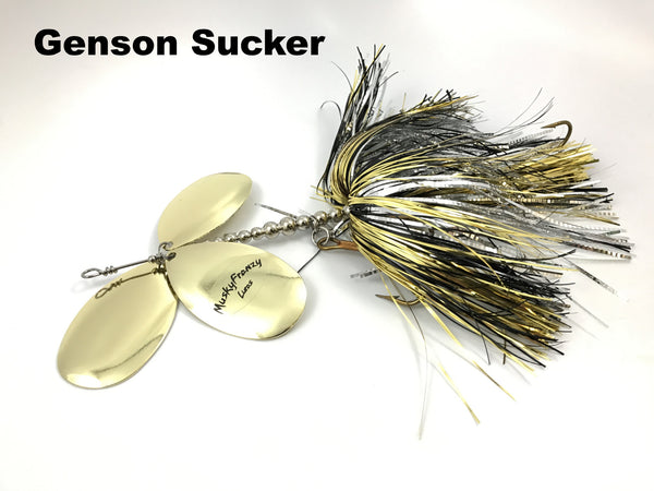 Musky Frenzy Lures - Apache Triple 10's
