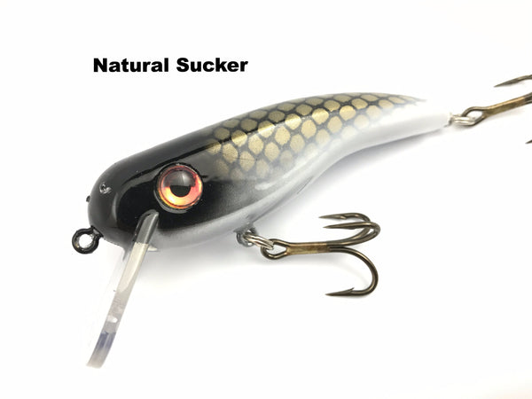 Llungen Lures .22 Short SS - Natural Sucker