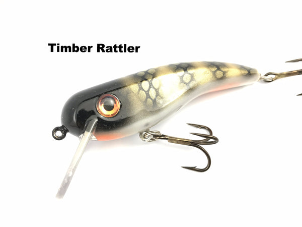 Llungen Lures .22 Short SS - Timber Rattler