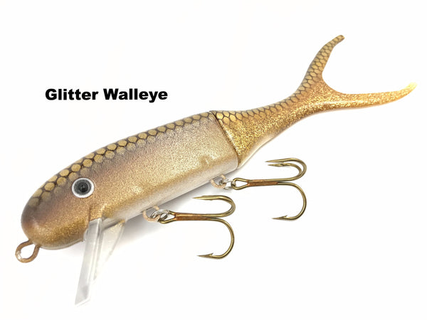Musky Innovations Shallow Invader - Glitter Walleye