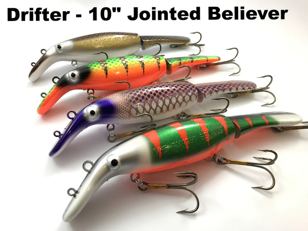 "Drifter Tackle 10"" Jointed Believer"