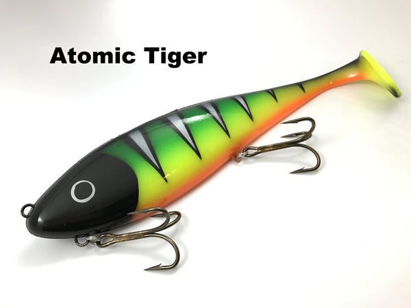 Musky Innovations Magnum Swimmin' Dawg - Atomic Tiger