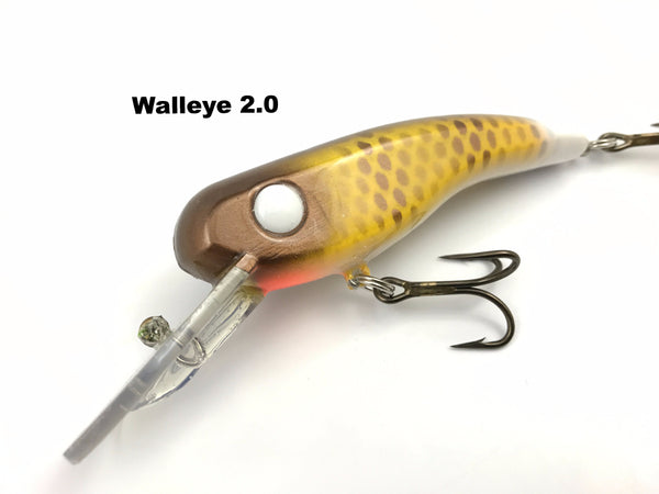 Llungen Lures .22 Short - Walleye 2.0