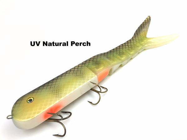Musky Innovations Dyin' Dawg - UV Natural Perch
