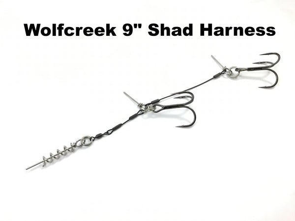 "Wolfcreek Lures 9"" Shad Harness"