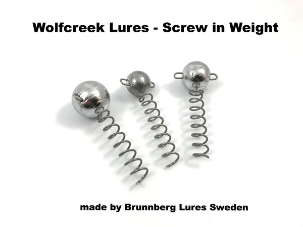 Wolfcreek Lures - Screw in Weight (2 pack)