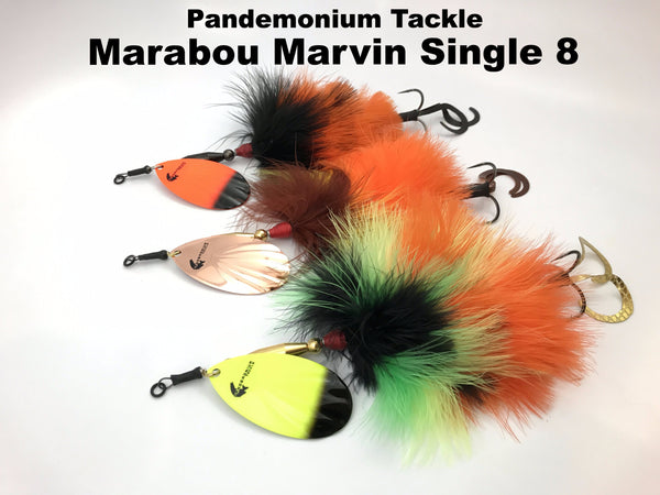 Pandemonium Tackle MARABOU Marvin Single 8