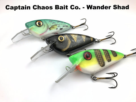 Captain Chaos Bait Co. Wander Shad