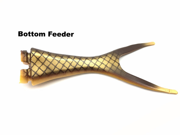 Musky Innovations Shallow Invader Replacement Tails - Bottom Feeder