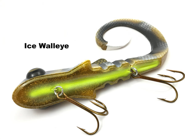 Musky Innovations Pounder Bull Dawg (Super Mag) - Ice Walleye