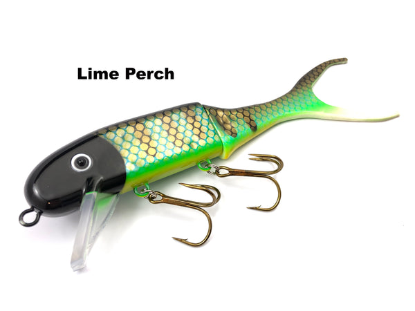 Musky Innovations Shallow Invader - Lime Perch