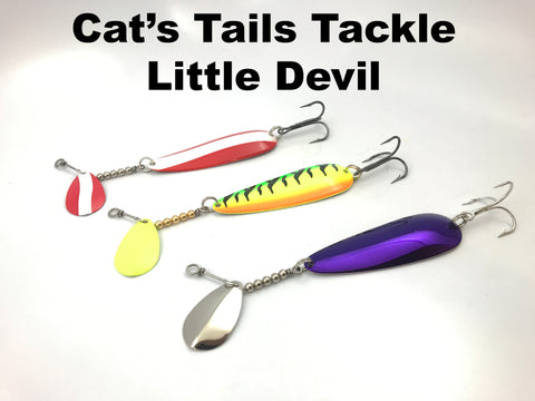 Cat's Tails Tackle Little Devil Spoon