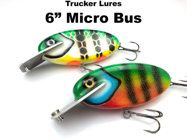 "Trucker Lures 6"" Micro Bus"