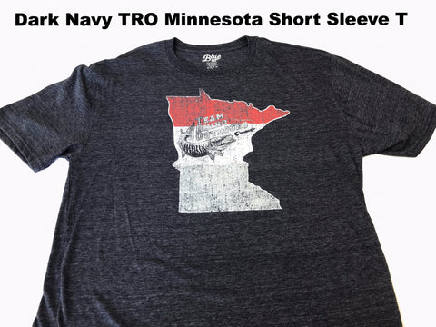 Team Rhino Outdoors - Dark Navy TRO Minnesota Short Sleeve T