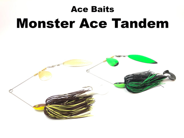 Ace Baits Monster Ace Tandem Spinnerbait