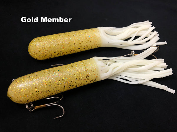 "Red October Baits 10"" Monster Tubes Mid Weight"