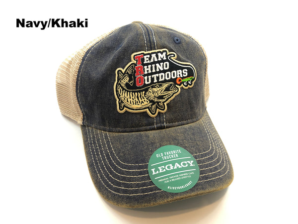 TRO - Patch Logo Legacy Old Favorite Trucker Hat (Multiple Colors)