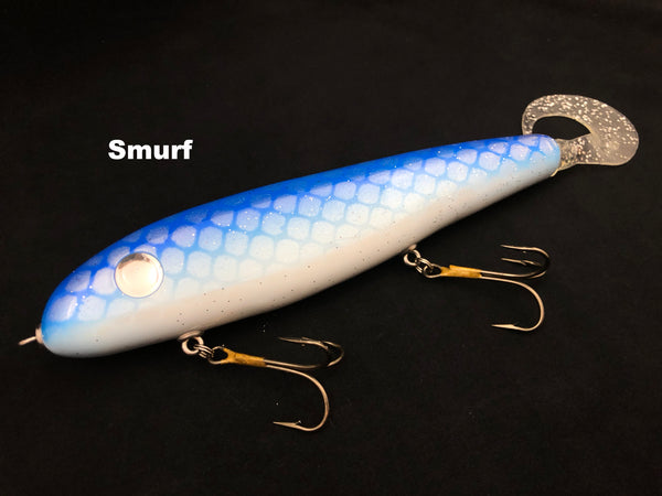 "Phantom Lures 10"" Phantom Soft Tail - Smurf"