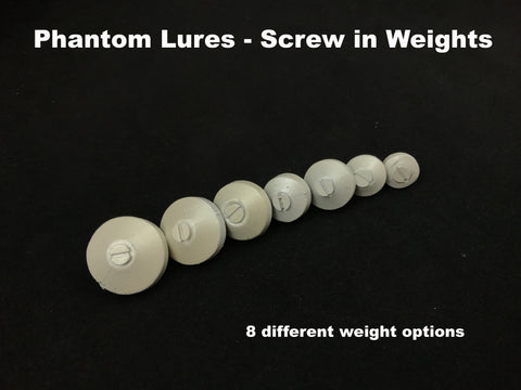 Phantom Lures Screw in Weights