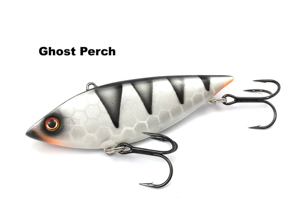 "Llungen Lures 4"" Tony Grant Rattlin' Shad - Ghost Perch"