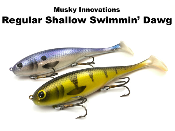 Musky Innovations Regular Shallow Swimmin' Dawg