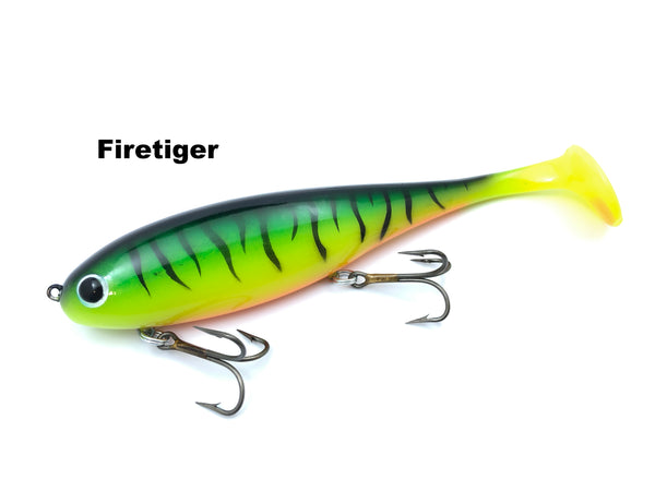 Musky Innovations Regular Shallow Swimmin' Dawg - Firetiger