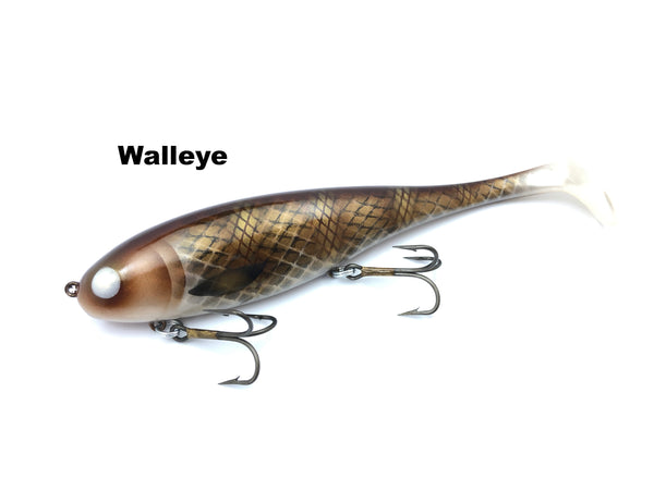 Musky Innovations Regular Shallow Swimmin' Dawg - Walleye